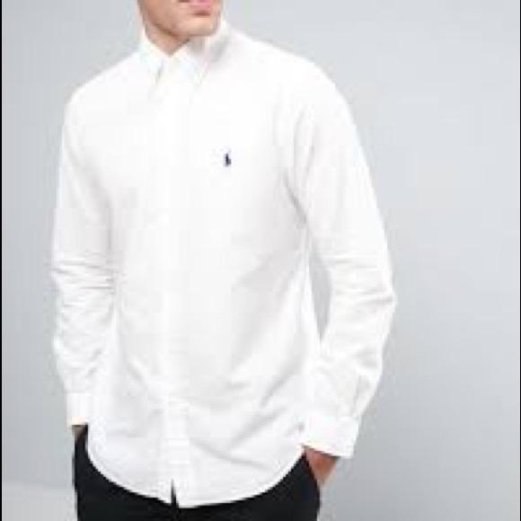 b18e7e56 Ralph Lauren Shirts | Classic Fit White Oxford Dress Shirt | Poshmark